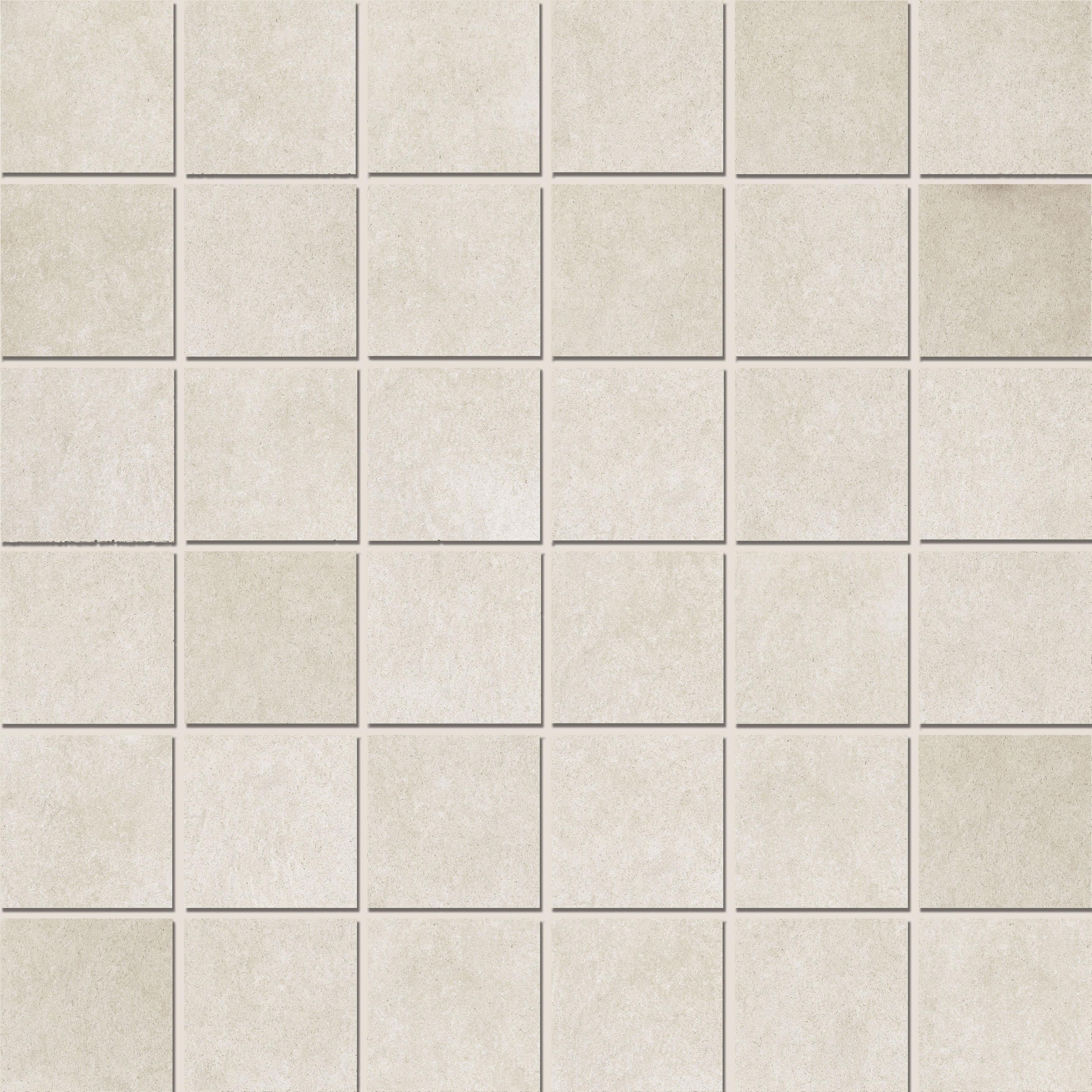 Mosaic 4,7x4,7 White Satin