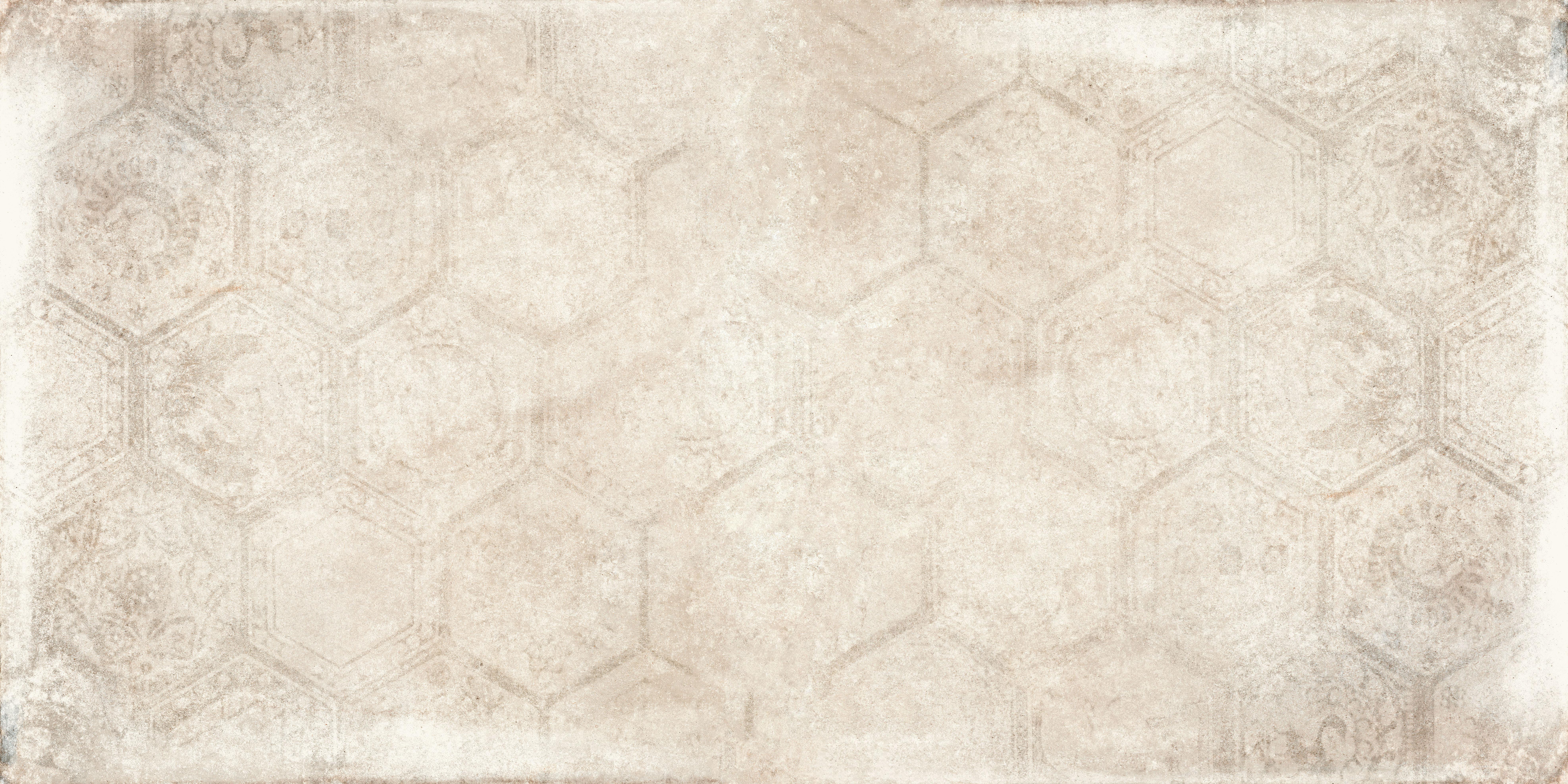 Hexagon Soft Brown