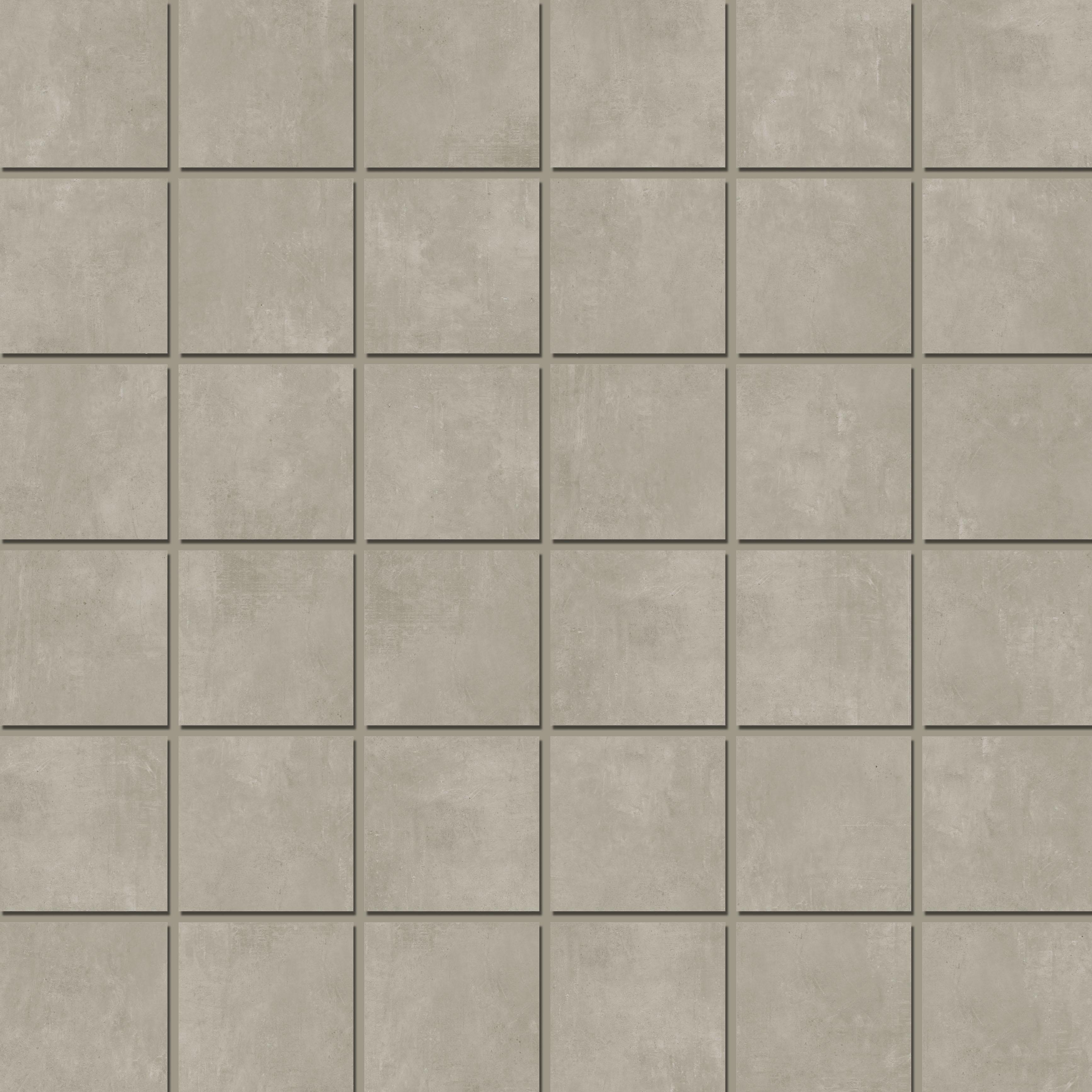 Mosaic 4,7x4,7 Grey
