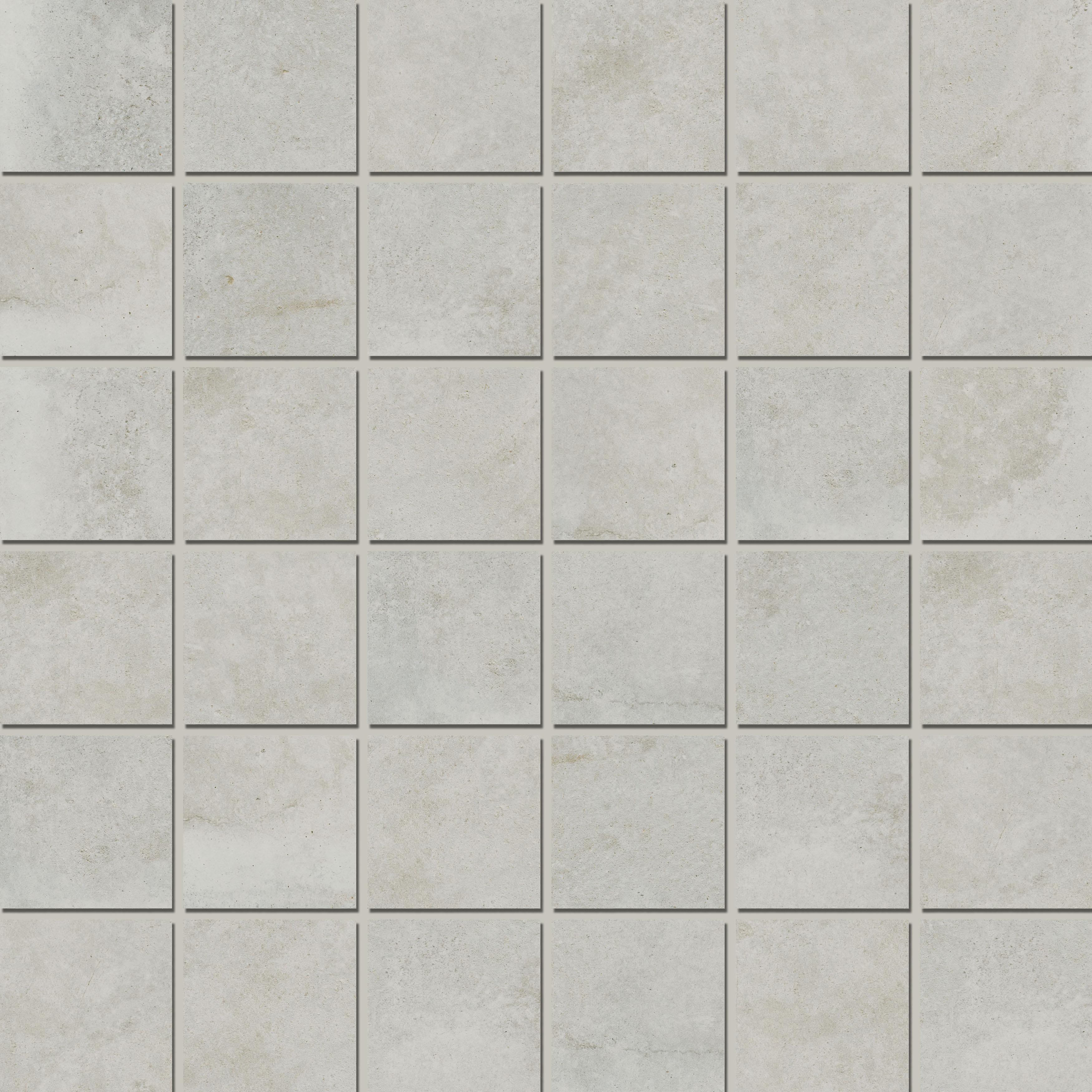 Mosaic 4,7x4,7 Soft Silver